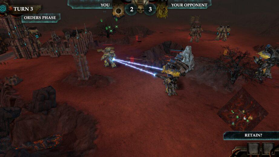 Adepticus Titanticus - Screenshot